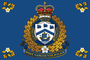 West Vancouver Police Department - Flag